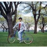 Me, my new bike, green Canada