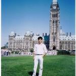 At Canadian Parliament