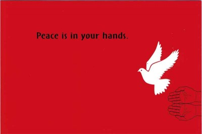 Postcard for peace